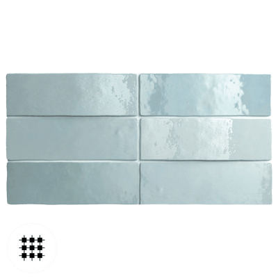 AQUA GLOSS ARTEMIS WALL TILE 200X65X10MM