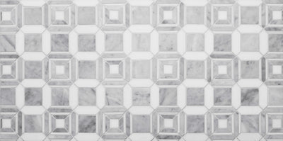 LABYRINTH CHANNEL CARRARA AND THASSOS MARBLE by Steve Cordony