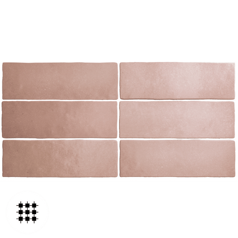 MARGOT CORAL PINK MATT 200X65X10MM