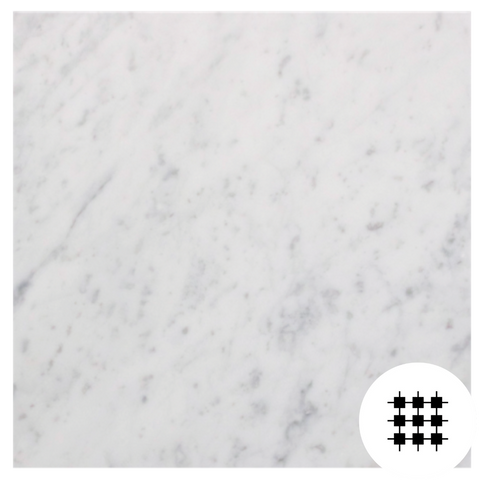 CARRARA C HONED TILE