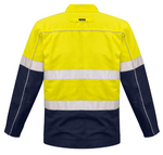 HI VIS COTTON DRILL JACKET  ZJ590