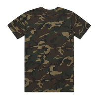 MENS STAPLE CAMO TEE - 5001C