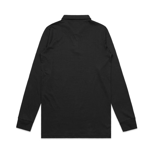 MENS CHAD L/S POLO - 5404