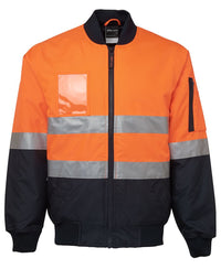 HI VIS (D+N) FLYING JACKET  6DNFJ