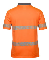 HI VIS S/S ARROW SUB POLO WITH SEGMENTED TAPE  6HAS