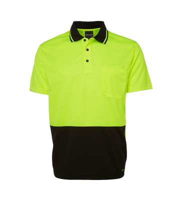HI-VIS NON CUFF TRADITIONAL POLO   6HVNC