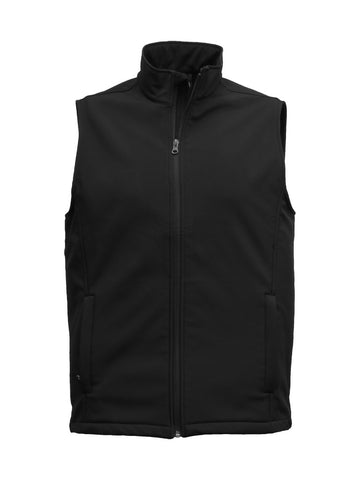 SVA Mens 3K Softshell Vest
