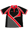 Custom Sublimated Bowling Club Polos