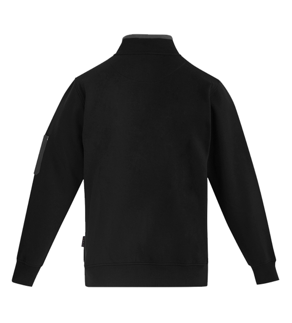 MENS 1/4 ZIP BRUSHED FLEECE   ZT366