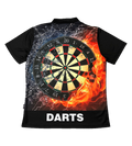 Custom Sublimated Darts Polo shirts