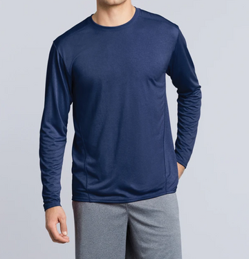 47400 Gildan Performance Adult Long Sleeve Tech T-Shirt
