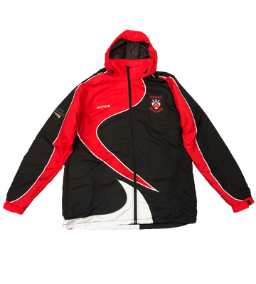Custom Sublimated Hooded Track Jacket