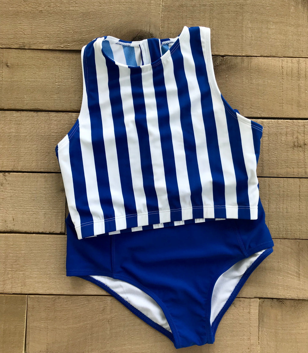 Livie swim top