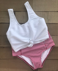 audrey swim top