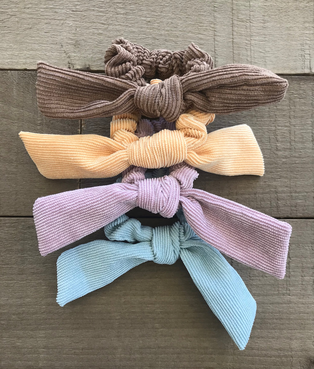 *new* corduroy scrunchie