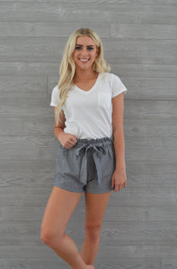 savanna striped shorts