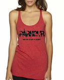 "Women's ""Never Stop Playing"" Racerback Tank"