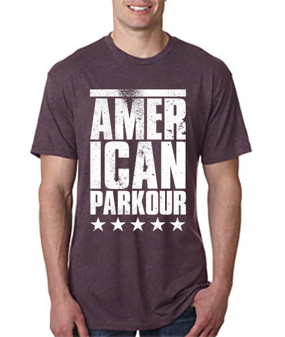 American Parkour Stacked Tee