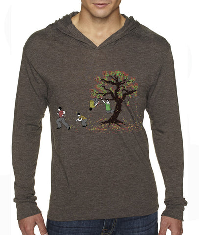 Fall Away Hooded T-Shirt