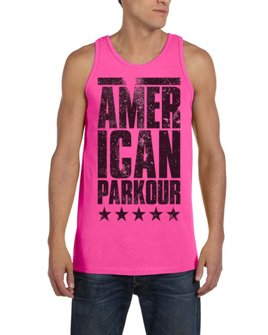 American Parkour Stacked Tank