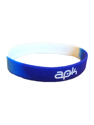 APK The World Is Our Playground Wristband