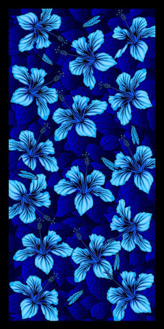 36 Hibiscus Flowers Velour Beach Towels 30 x 60 Inch #0138