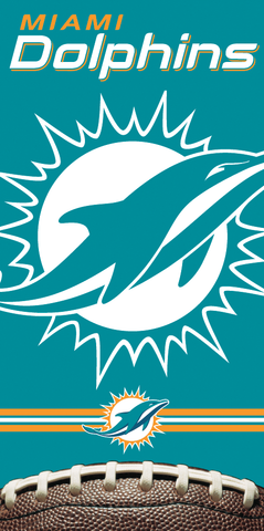 12 Miami Dolphins Beach Towels 30 x 60 #16566