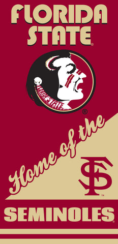 12 Florida State Seminoles Home Velour Beach Towels 28 x 58 Inch #00015H