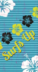 Hibiscus Surfs Up Beach Towel
