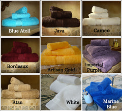 Crown Jewel Bath Set 12 Bath Towels, 12 Hand Towels, 12 Washcloths