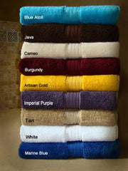 24 Crown Jewel Luxurious Bath Sheets 34 X 68 Inch 21 lbs./dz 100% Giza Eqyptian Cotton