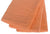 3 Orange 100% Cotton Velour Towels 30 x 60 #102820