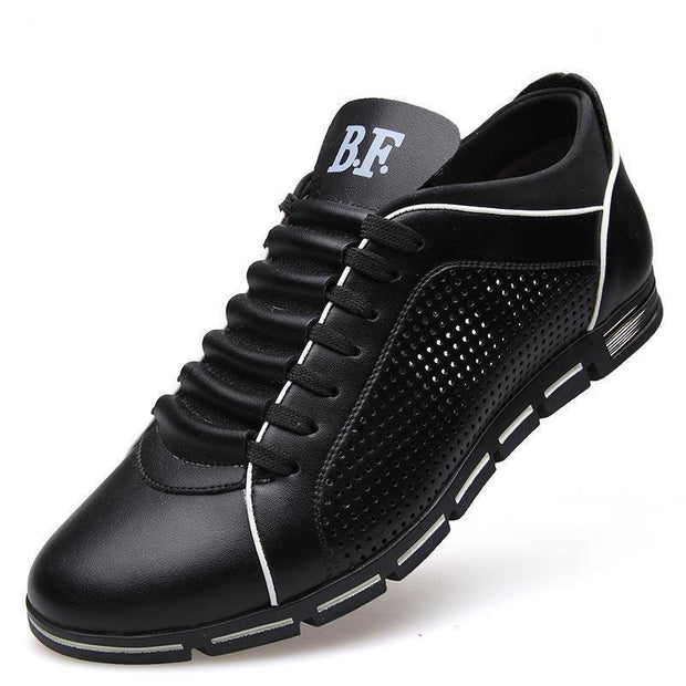 Breathable Fashion Mens Imitation Leather Shoes