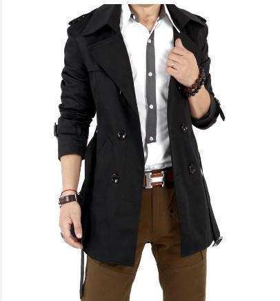Classic Mens Wind Coat