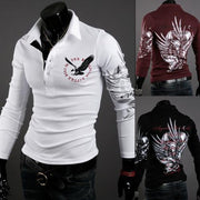 Eagle Slim Long Sleeve POLO