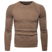 Basic Corduroy Stitching Sweater