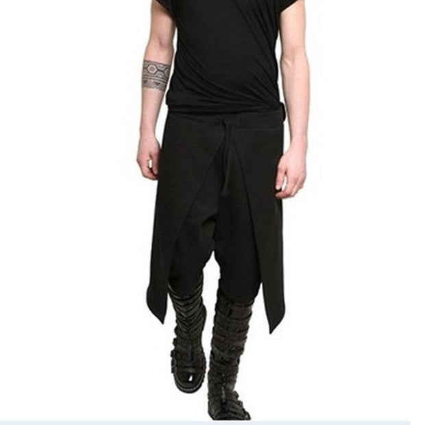 Black Tide Men's Casual Pants Skirt Harem Pants