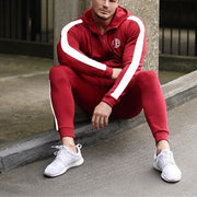 Cozy Side-Stripe Tracksuit