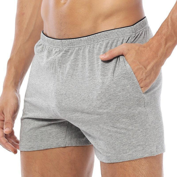 Daily Plain Loose Soft Boxer Briefs