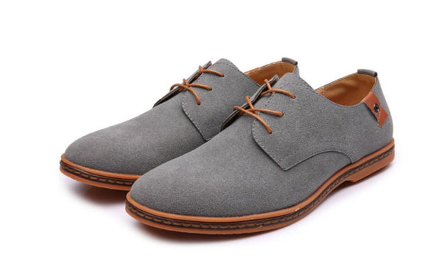Casual shoes lace-up dull polish   shoes wet shoes