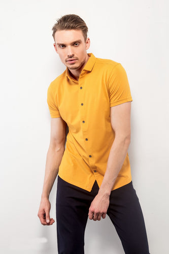 Musterd Half-Sleeves Shirt