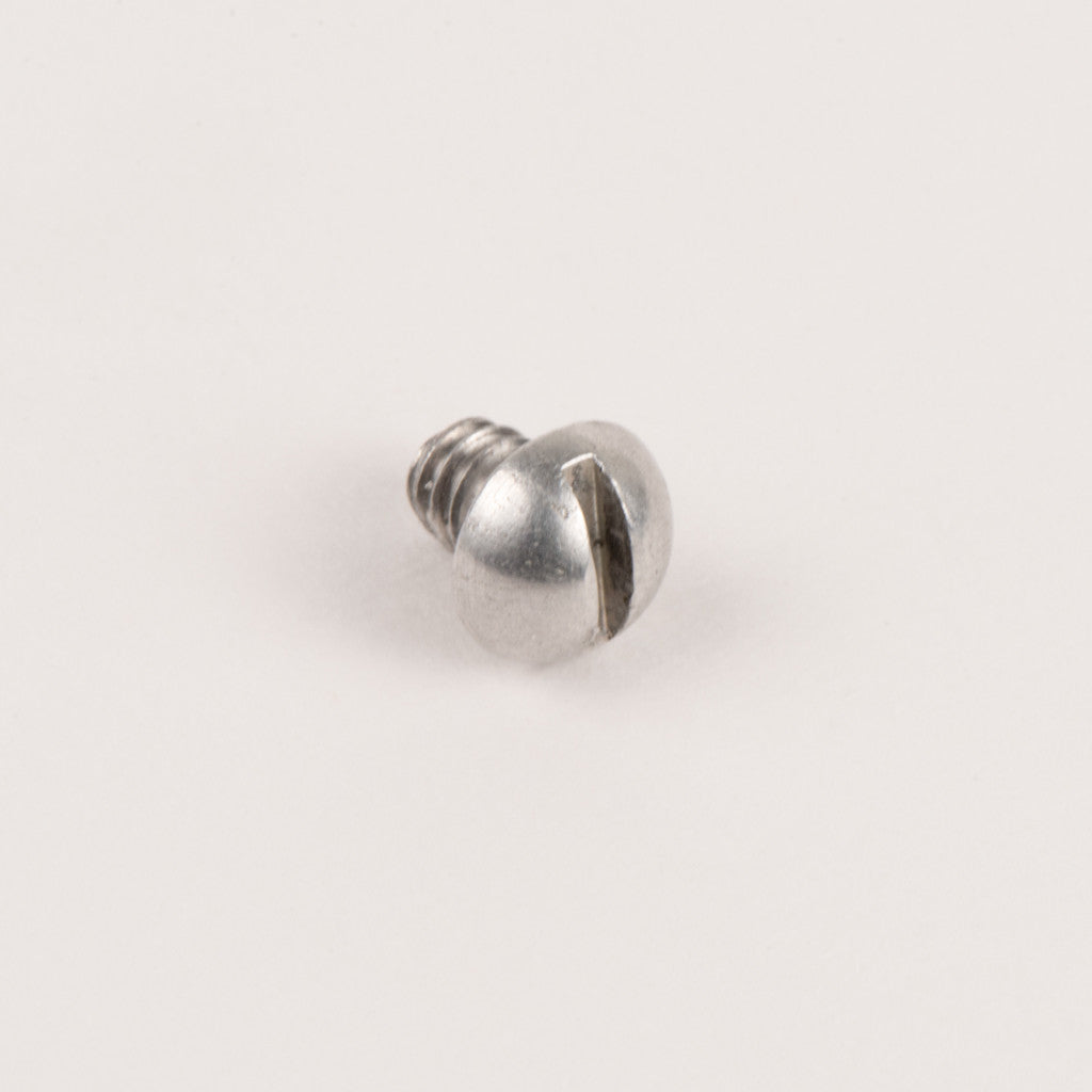 Baffle screw, aluminum