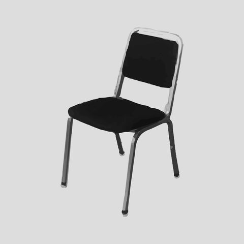 Chair, stacking