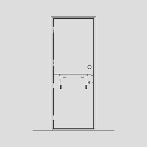 Type 3 joiner door