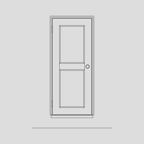 Type A joiner door
