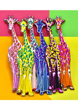 Load image into Gallery viewer, Ark Colour Giraffe Bookmark in Various Colours