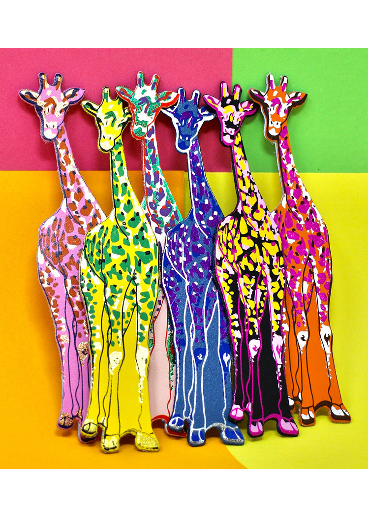 Ark Colour Giraffe Bookmark in Various Colours