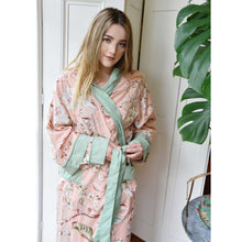 Load image into Gallery viewer, Peach Blossom Dressing Gown