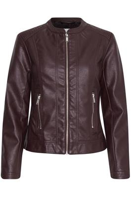 B Young Acom Jacket Burgundy