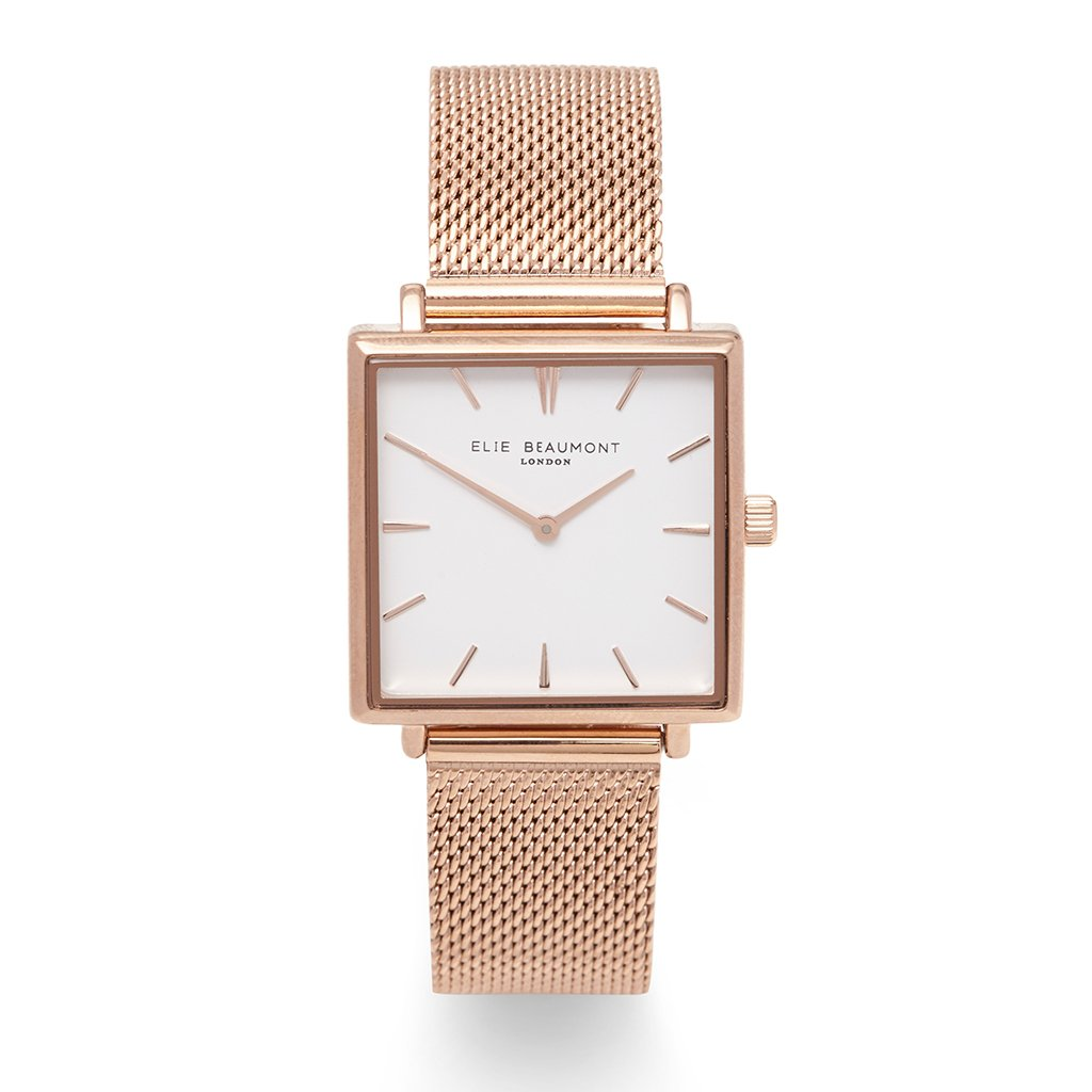 Elie Beaumont Bayswater Rose Gold Mesh